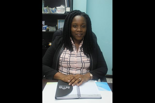 Director of Communications and Marketing at the National Youth Service (NYS), Julia Smiley Green.