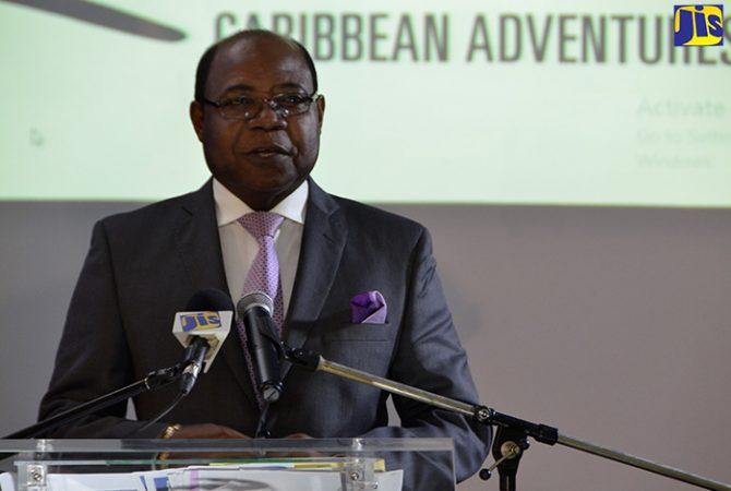 Minister of Tourism, the Hon. Edmund Bartlett