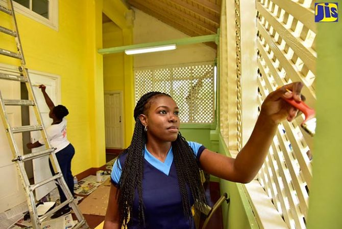 NHT Spruces Up Parent Overnight Suite at Bustamante Hospital