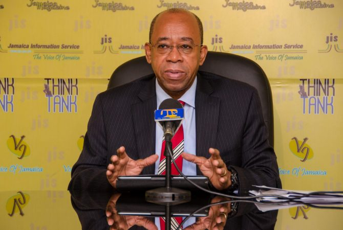 Chief Executive Officer of the Petro-Caribe Development Fund, Dr. Wesley Hughes.