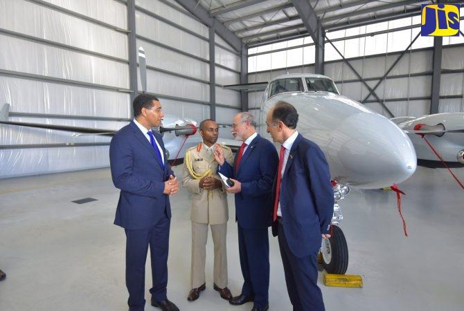 JDF Acquires New Surveillance Aircraft - Jamaica Information