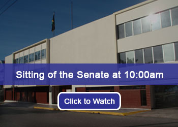 Sitting of the Senate at 10:00am