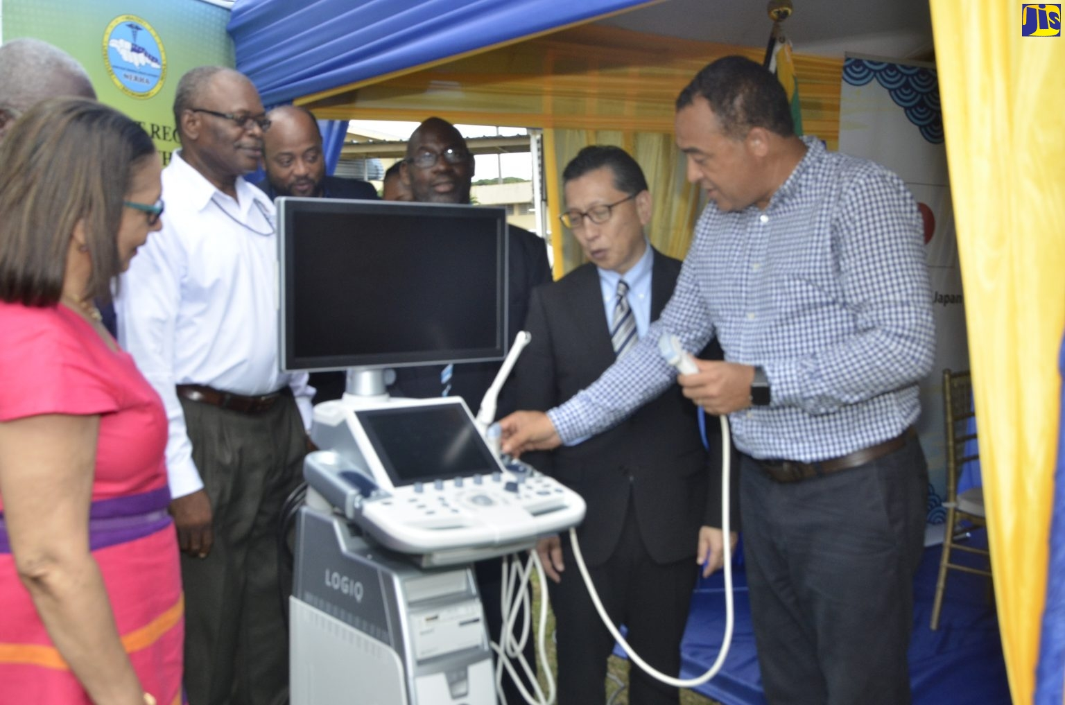 saint anns bay hospital jamaica