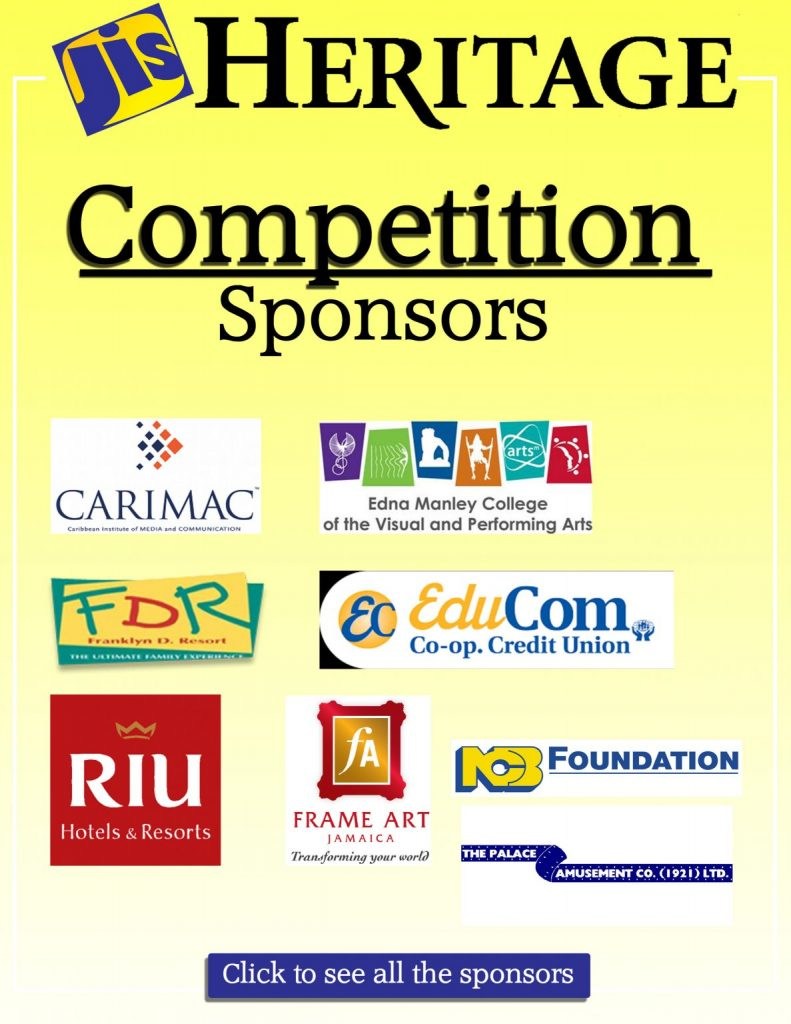 JIS Heritage Competition Sponsors