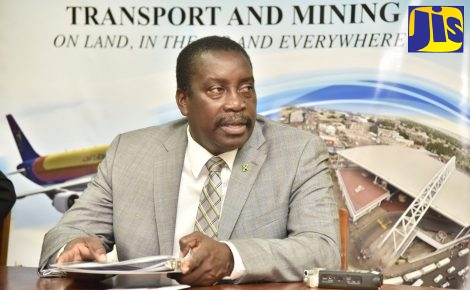 Transport and Mining Minister, Hon. Robert Montague.