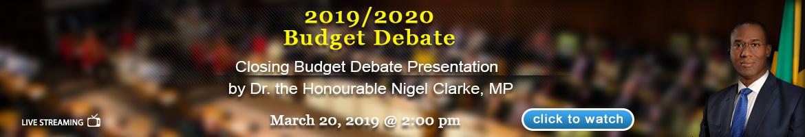 Closing Budget Debate Presentation