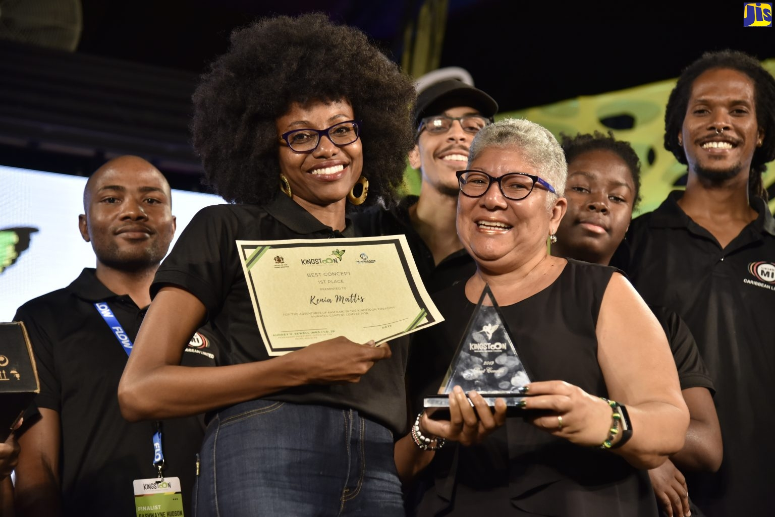 The Adventures Of Kam Kam' Wins Best Pitch at KingstOOn - Jamaica