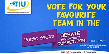 TIU Public Sector Debate Competition Banner