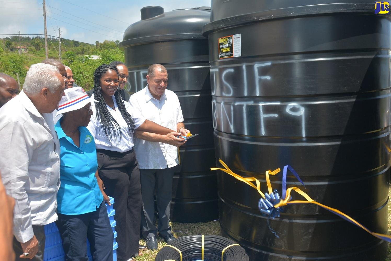 300 St. Elizabeth Farmers Receive Irrigation Equipment