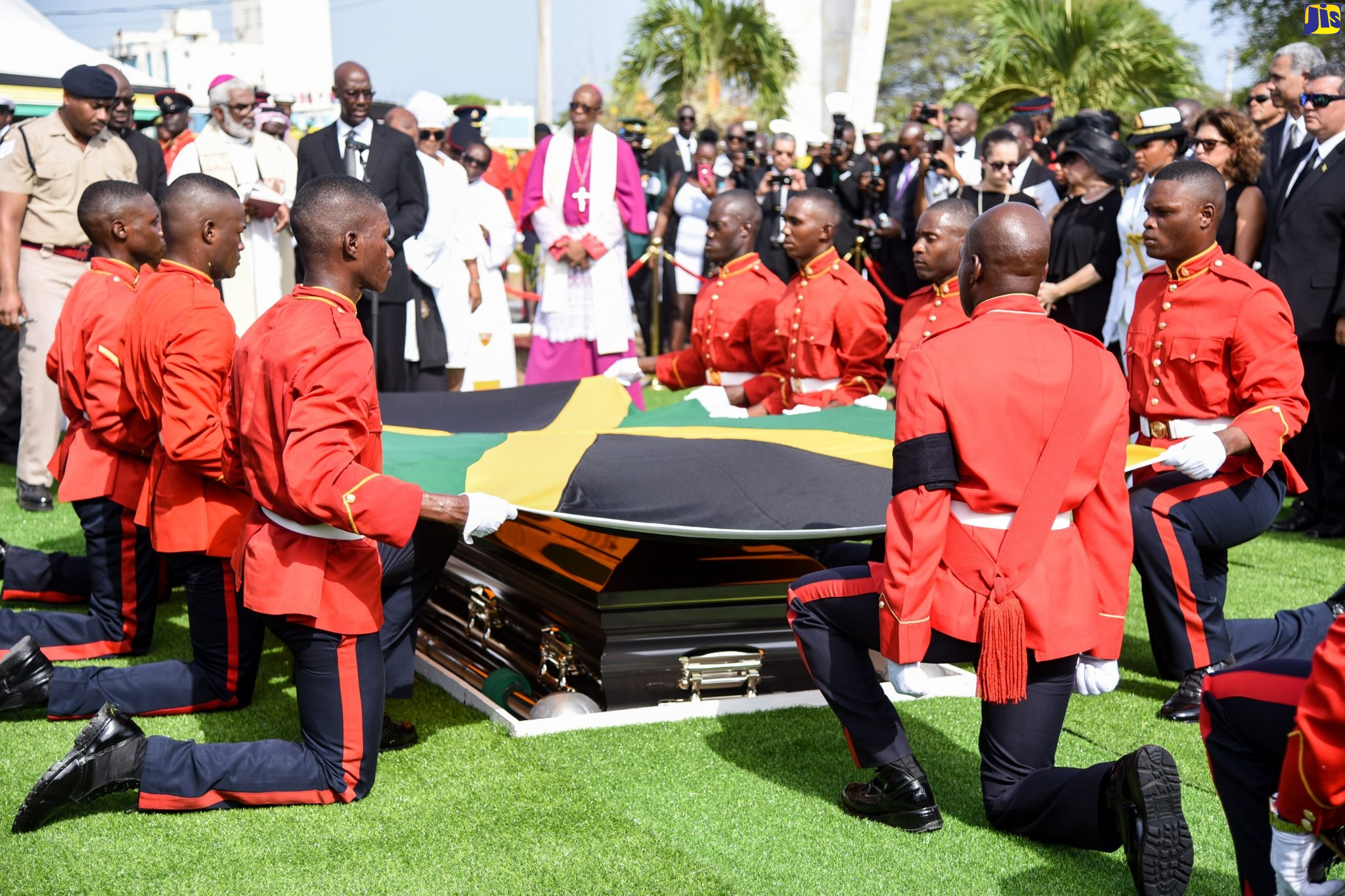 Edward Seaga Laid to Rest - Jamaica Information Service