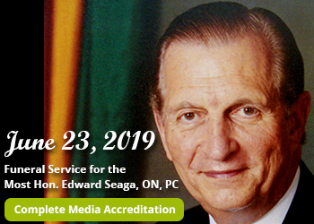 Most Hon. Edward Seaga Funeral Service Media Accreditation