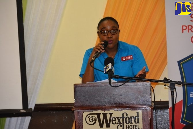Manager of the Trafficking in Persons Secretariat, Chenee Russell.