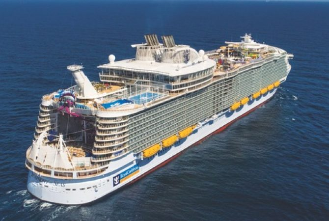 Worlds Largest Cruise Ship 2020.Largest Cruise Ship To Call In 2020 Jamaica Information