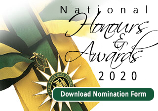 National Honours and Awards 2020 Nomination Form