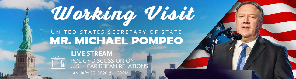 Working Visit by United States Secretary of State Mr. Michael Pompeo​