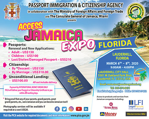 Access Jamaica Expo – Florida