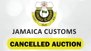 Jamaica Customs Agency Cancelled Auction