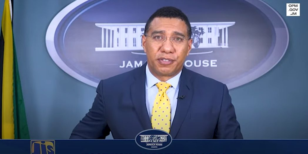 The Most Hon Andrew Holness Prime Minister Message to Jamaican Ship Workers Docked in Falmouth