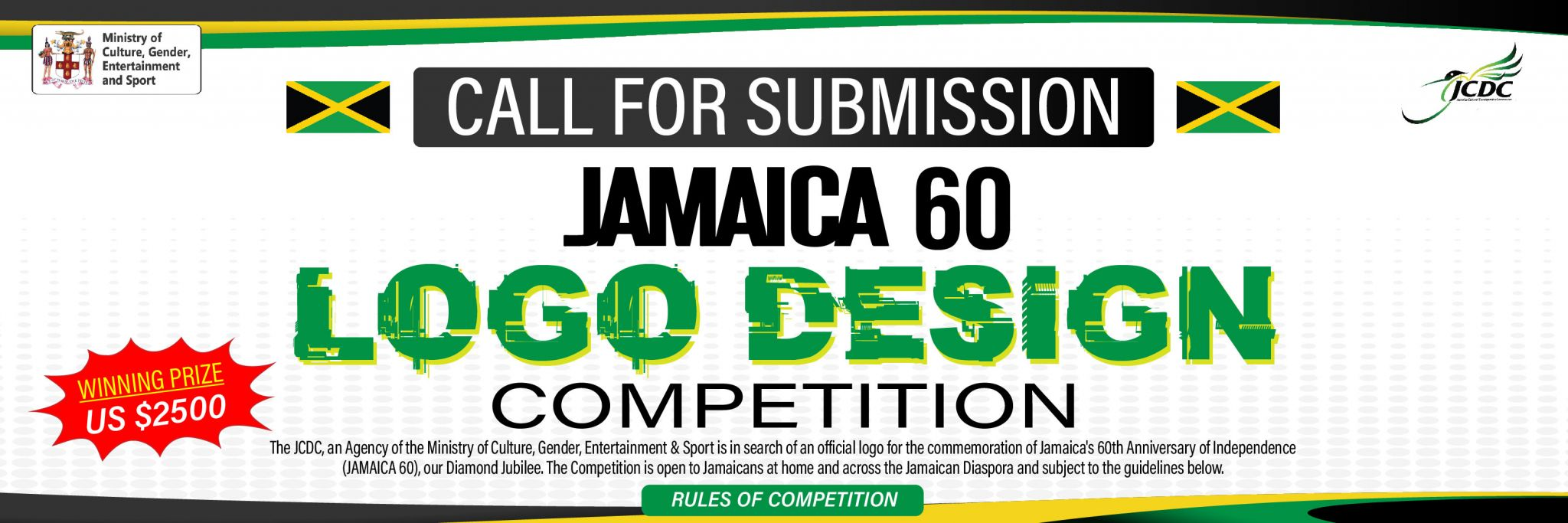 Jamaica 60 Logo Competition