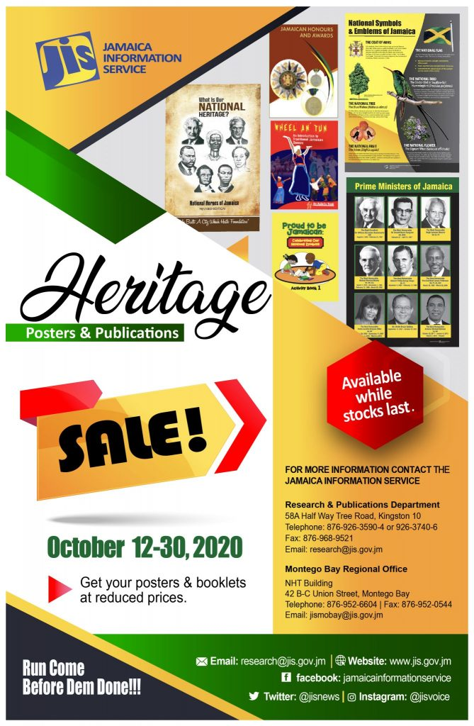 Heritage Sale Flyer