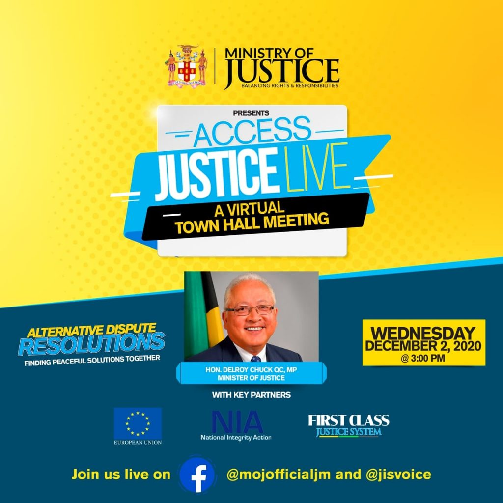 Access Justice Live Virtual Townhall Meeting