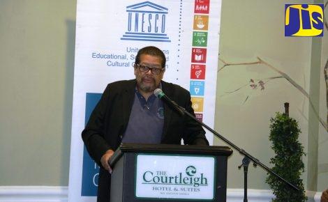 Director of the African Caribbean Institute of Jamaica/Jamaica Memory Bank (ACIJ/JMB), Bernard Jankee.
