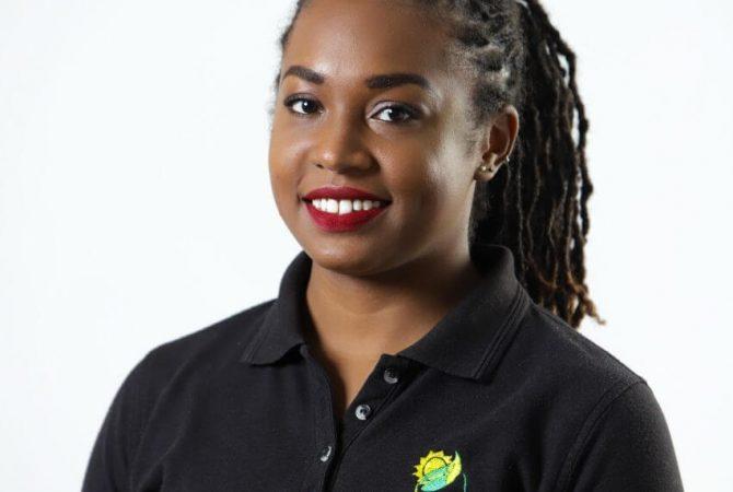 Jamaica Climate Change Youth Council Director, Eleanor Terrelonge.