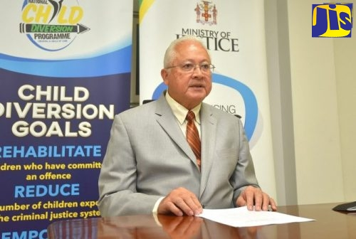 Justice Minister, Hon. Delroy Chuck.