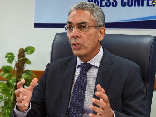 Bank of Jamaica (BOJ) Governor, Richard Byles.