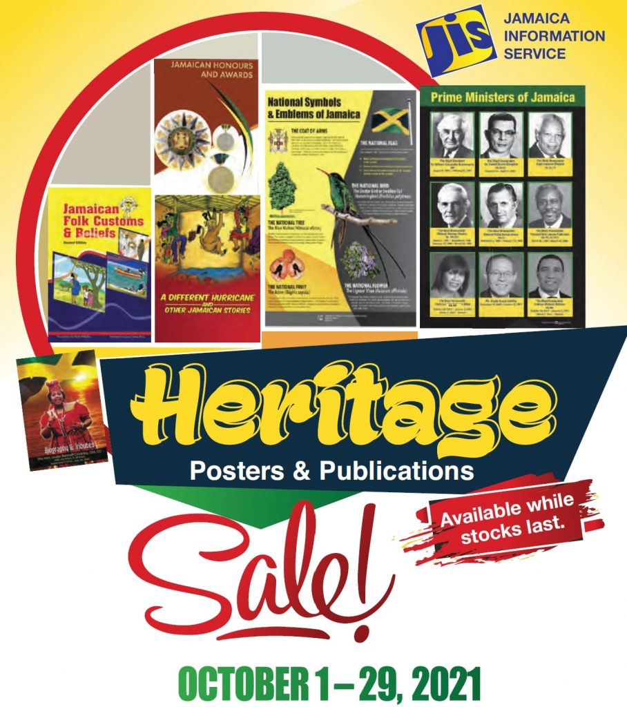JIS Heritage Posters and Publications 2021