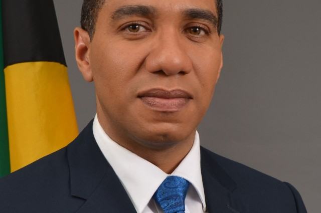 Leader of the Opposition, Mr. Andrew Holness, MP.