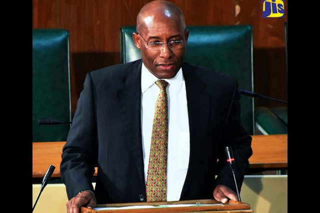 Deputy President of the Upper House, Senator the Hon. Aubyn Hill.