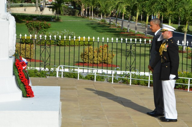 President Obama Pays Respect to Fallen Soldiers