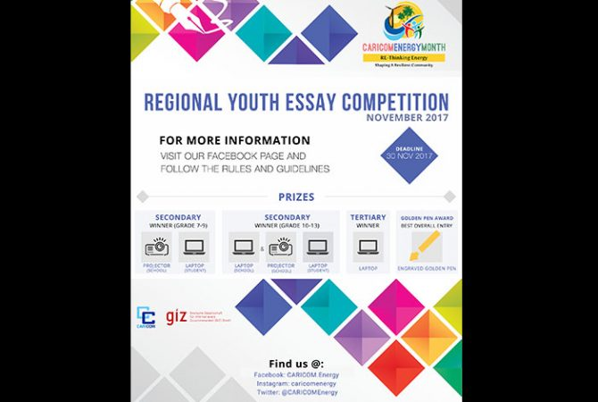 Students Invited To Enter Caricom Essay Competition  Jamaica  Students Invited To Enter Caricom Essay Competition Cheap Term Papers For Sale also High School Narrative Essay Examples  We Buy Powerpoints