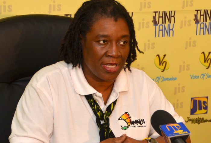 Film Commissioner and Manager of Creative Industries at Jamaica Promotions Corporation (JAMPRO), Carole Beckford, highlights activities for the upcoming Jamaica Film Festival slated for July 7 to 11, during a recent JIS Think Tank.