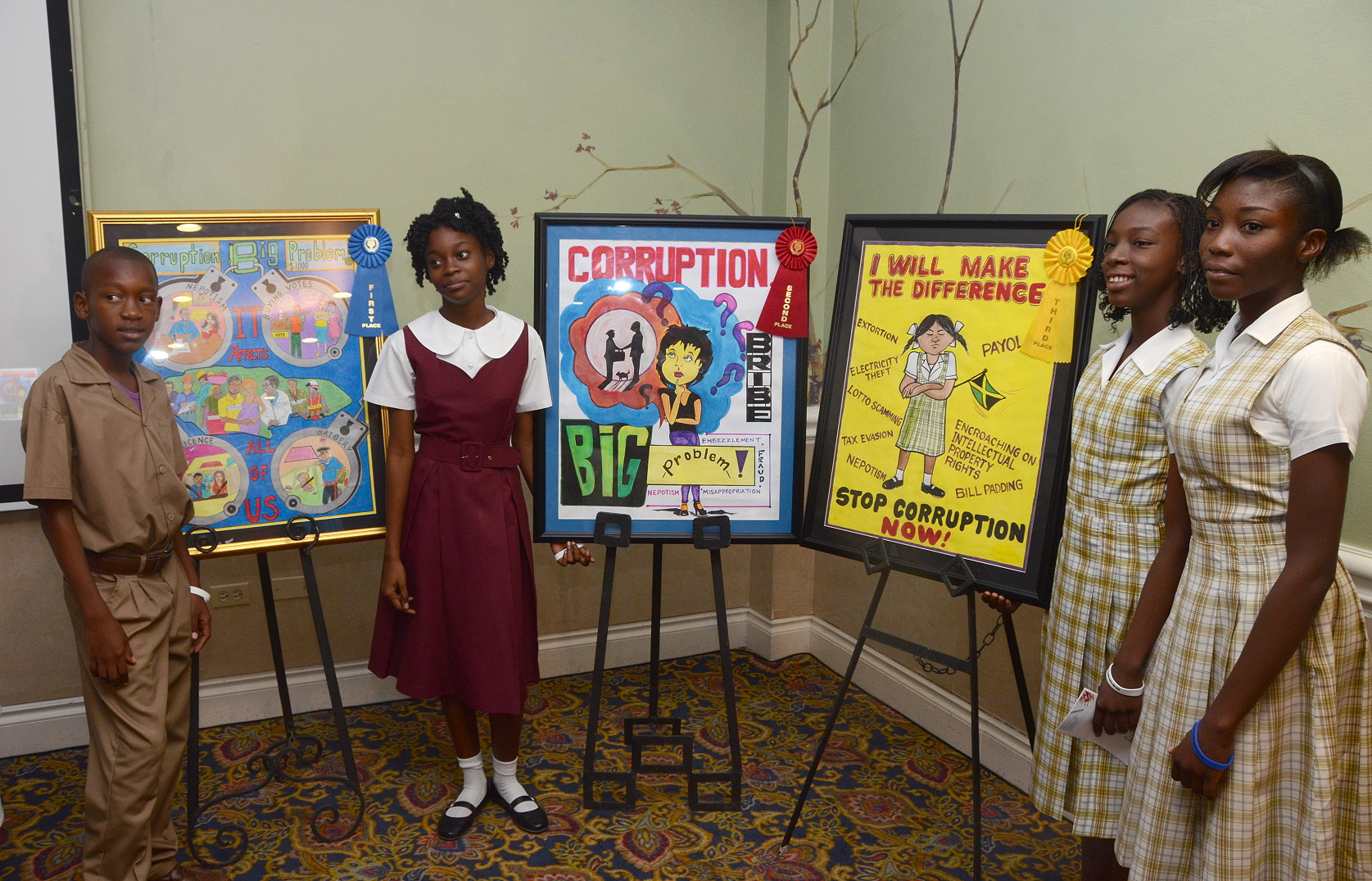 students win cash prizes in contractor general essay and poster contest