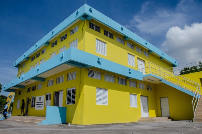 The new Waterhouse Community Multi-purpose Centre, in Western St. Andrew, which was officially opened on September 24.  It was constructed through the Citizen Security and Justice Programme (CSJP).