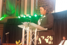 Jamaica's newly appointed Deputy High Commissioner to the United Kingdom, Her Excellency Angella Rose-Howell, reading the Message from Prime Minister the Most Hon. Andrew Holness, during the 54th Independence Anniversary Thanksgiving Service at Emmanuel Centre in Westminster, London, on July 30.