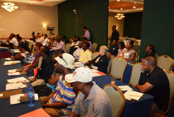 Participants who attended the National Nutraceuticals Business Opportunity Workshop, held at the Holiday Inn Resort in Montego Bay, on March 23. The workshop was staged by the National Commission on Science and Technology (NCST), and was aimed at educating nutraceutical farmers about the industry.