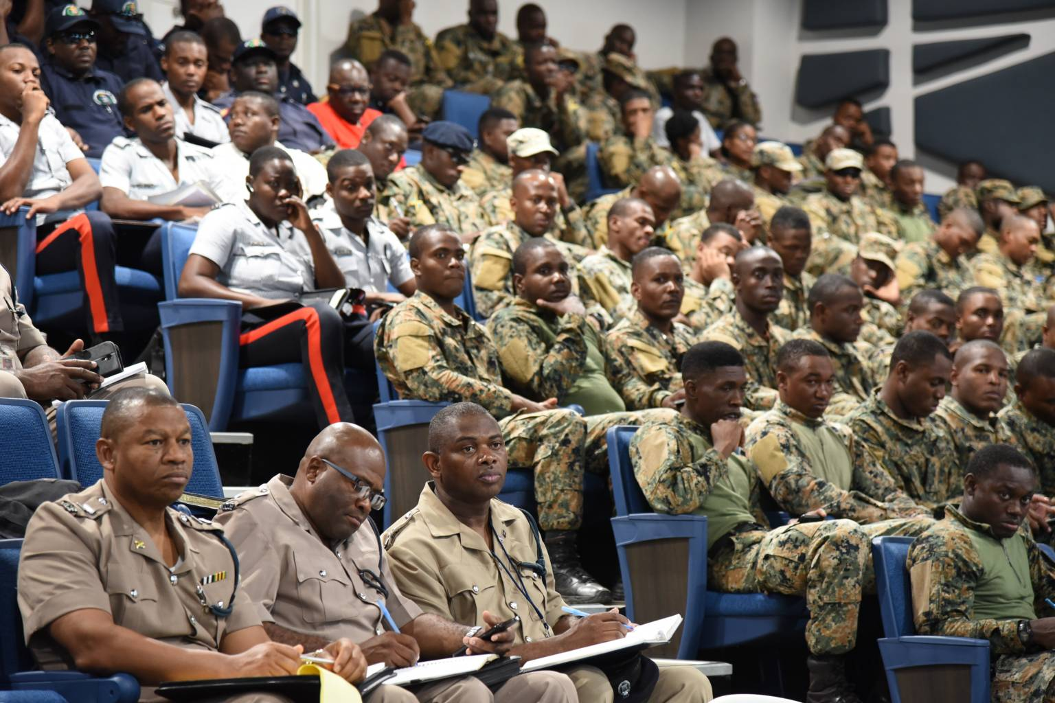 Senior Officers Of JCF And JDF Upbeat About Training For ZOSO