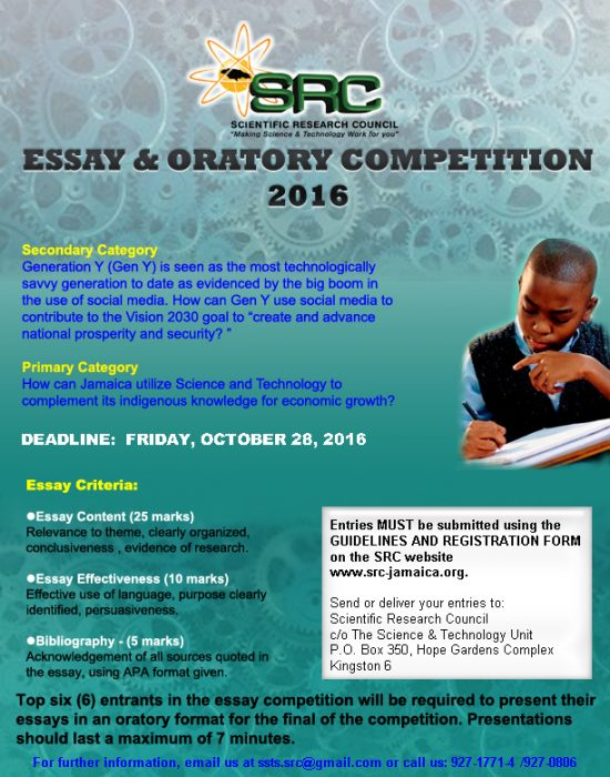 web of life essay competition