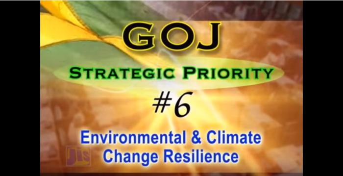 GOJ Strategic Priority #6 Environmental & Climate Change Resilience