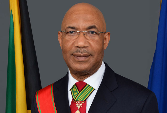 Governor-General H.E. The Most Hon. Sir Patrick Allen ON, GCMG, CD