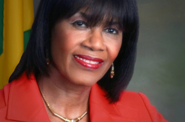 Prime Minister, the Most Hon. Portia Simpson Miller.