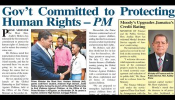 Gov't Committed to Protecting Human Rights - PM