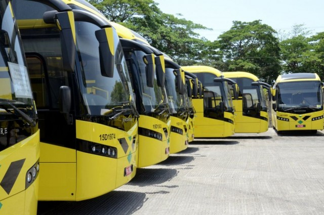 JUTC Gets 27 New Buses