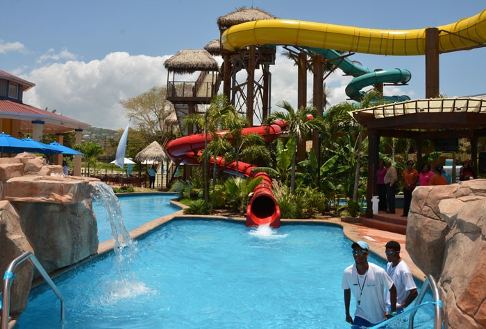 The Jewel Runaway Bay Lagoon Water Park at the Jewel Runaway Bay Beach and Golf Resort in St. Ann officially opened on July 22.