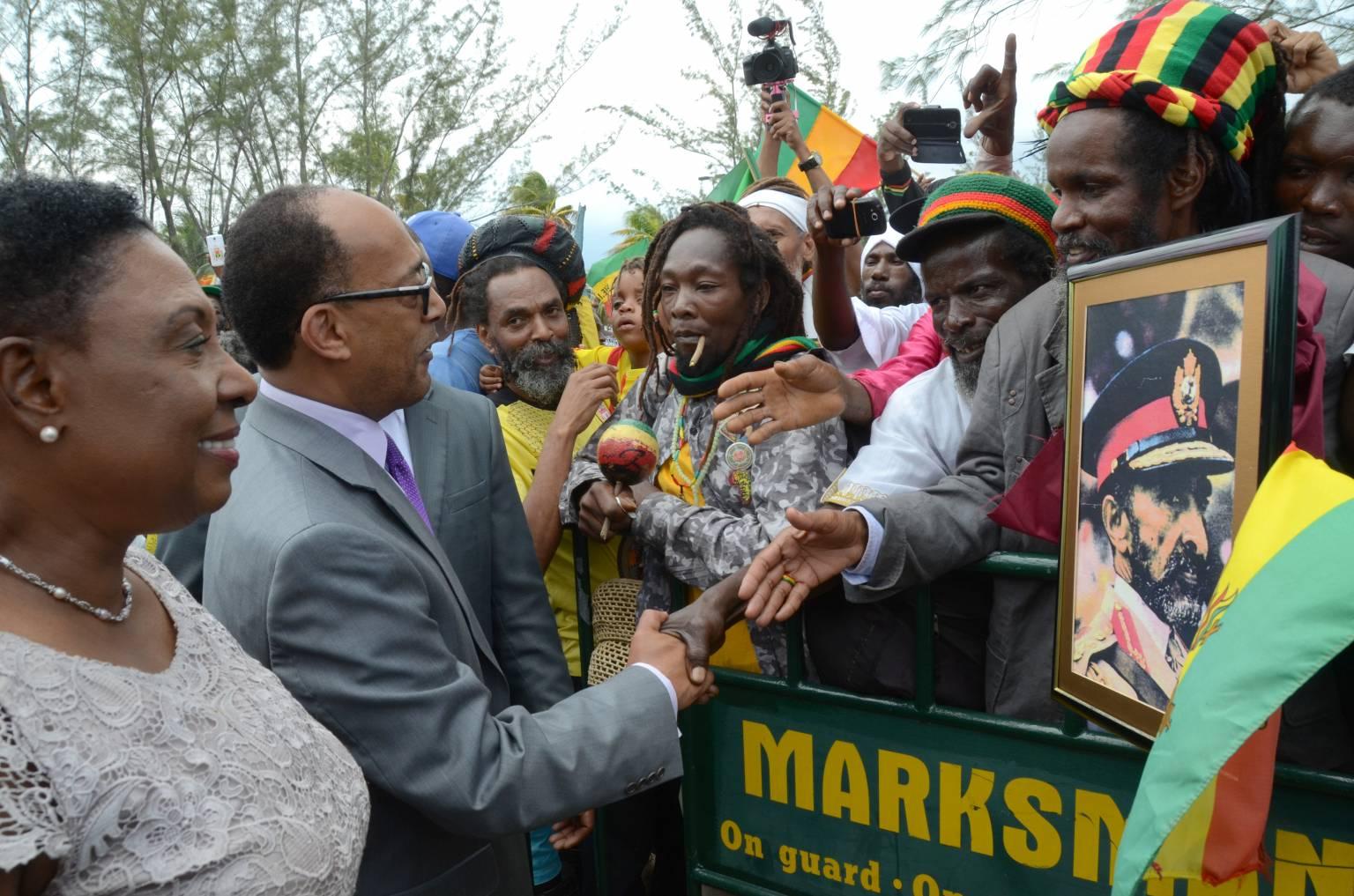 Haile Selassie's Grandson in Jamaica for Nine-Day Visit