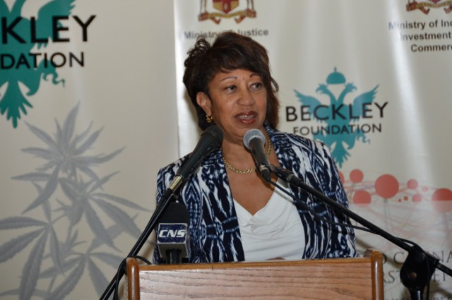 President of Jamaica Promotions Corporation (JAMPRO), Ms. Diane Edwards.