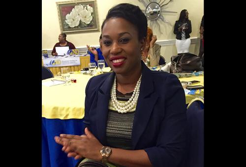 Research Coordinator at the Bureau of Gender Affairs, Nardia Mclaren.